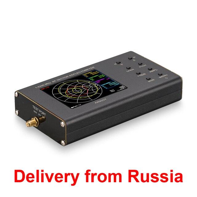 Nuovo portatile VNA SWR di vettore analizzatore di rete reflectometer Arinst VR 1 6200 MHz