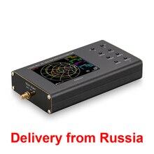 ใหม่แบบพกพา VNA SWR vector Network analyzer reflectometer Arinst VR 1 6200 MHz