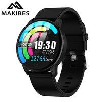 Makibes T5 PRO Advanced Milanese magnetic Fitness Tracker Smart Watch Blood Pressure Monitor Smartwatch Fashion PK Q8 Bracelet