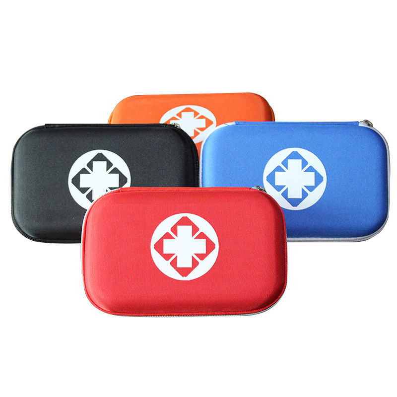 Mini tático saco de primeiros socorros kit sobrevivência emergência para casa acampamento ao ar livre bolsa médica portátil viagem conjunto vermelho preto laranja