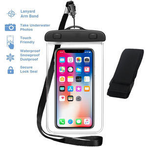 Universal Waterproof Case ,Water Proof Phone Dry Bag for iPhone xr samsung galaxy a40 a10 Xiaomi redmi 7a