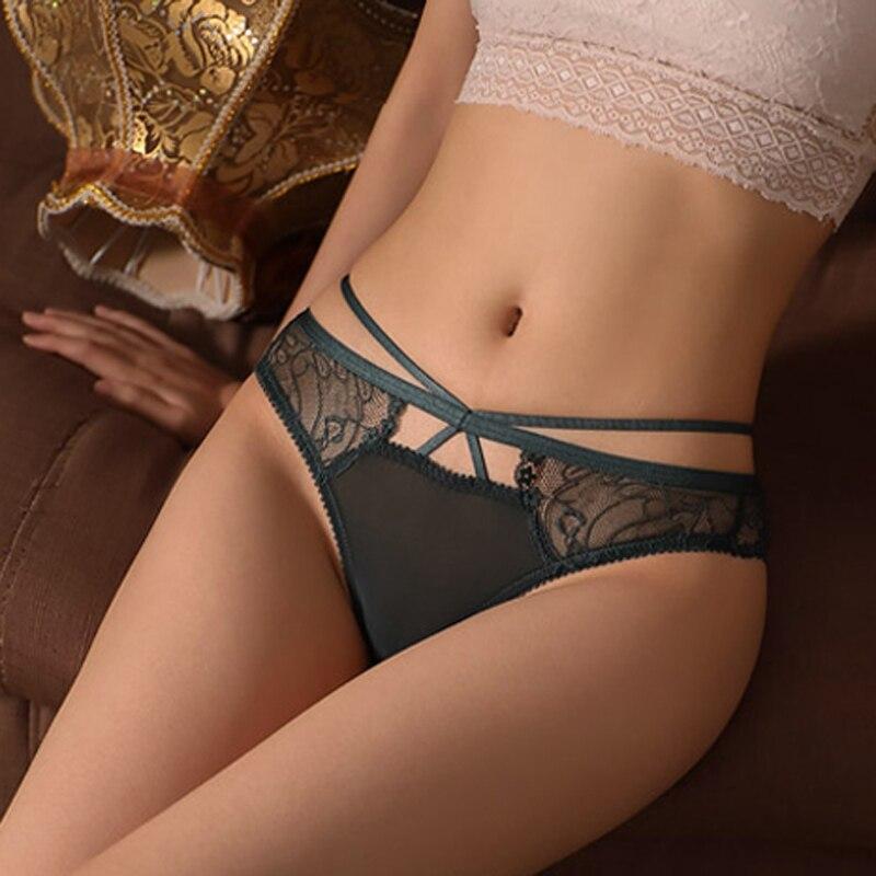 CINOON Neue Frauen Dessous G String Spitze Unterwäsche Femal Sexy T-back Tanga Schiere Höschen Aushöhlen Heißer Verkauf transparent Knickers