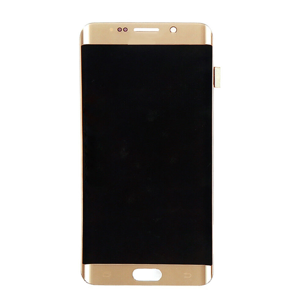 ORIGINAL 5.7'' AMOLED <font><b>LCD</b></font> for <font><b>SAMSUNG</b></font> <font><b>Galaxy</b></font> <font><b>s6</b></font> edge Plus G928 G928F Touch Screen Digitizer <font><b>Display</b></font> With Line image