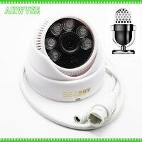 H.265 1080P ip-камера со встроенным микрофоном звукосниматель XMEYE 4MP 5MP ONVIF H265 Мобильный широкоугольный объектив 2,8 мм