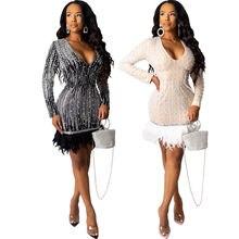 Женское винтажное вечернее платье с v образным вырезом длинным