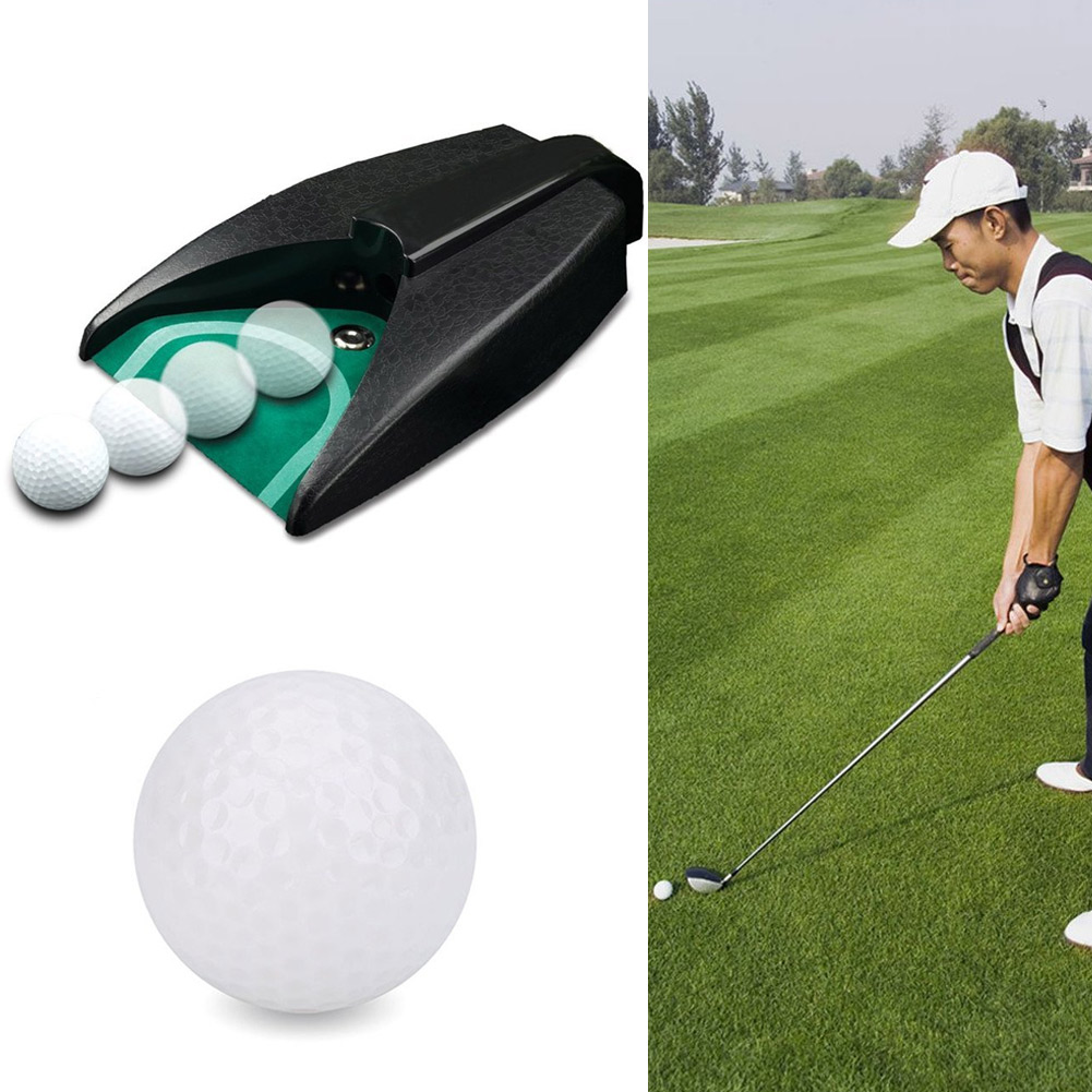 Golf Automatic Putting Cup Return Machine Training Practice For Outdoor Garden Lawn SAL99
