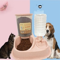 Goods For Pets Feeding Water Dispenser Cat Bowl Artifact Drinking Fountains Pet Products Supplies For Cats Dog Automatic Feeder