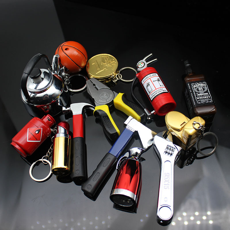 Online Celebrity Celebrity Style Wire-Cutter Wrench Extinguisher Axe Basketball Shoe Cooker Cool Cigarette Lighter