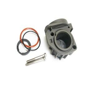 Image 5 - Compresor de suspensión neumática para coche, Kit de reparación de culata y anillo de pistón para Audi A6 C5 A8 D3 Mercedes W220 W211 2203200104 4E0616007D