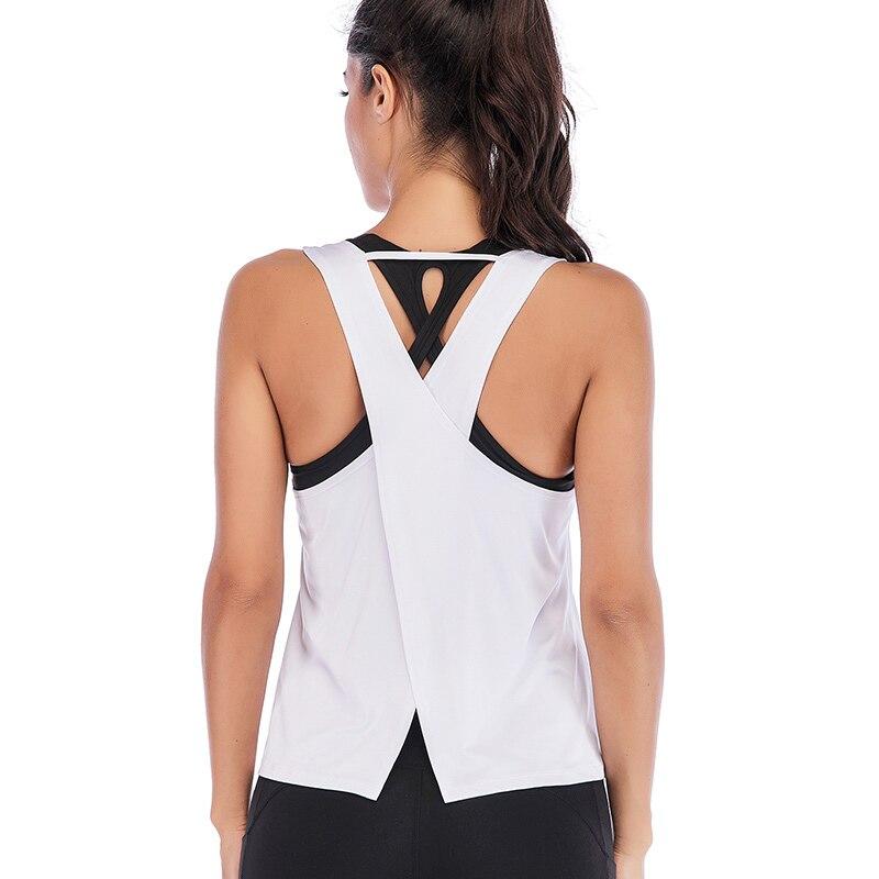 Купить спортивный топ одежда для йоги рубашка женский топ большого
