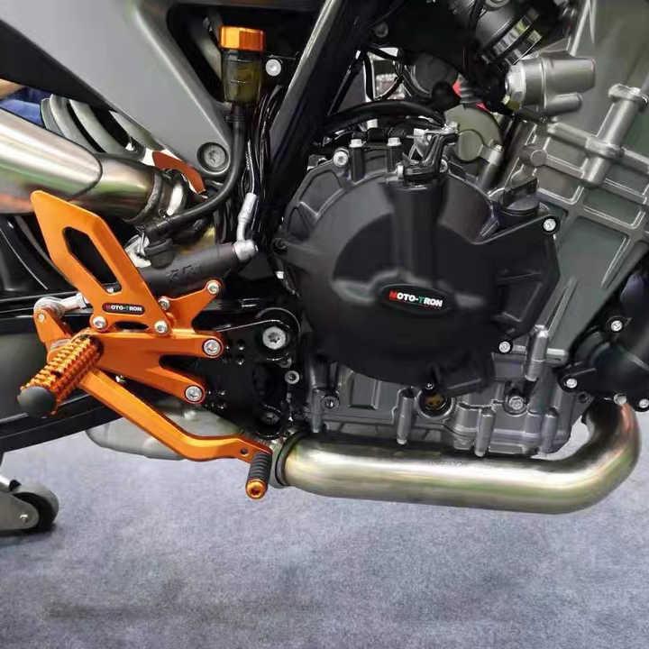 GSR750 11-16 Artudatech Juego trasero ajustable para motocicleta estriberas de placa de reposapi/és adaptador para SUZU-KI GSXS750 GSX-S750 15-16