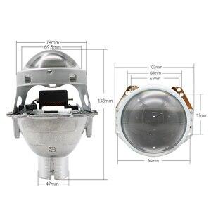 Image 3 - TAOCHIS Auto phare 3.0 pouces Bi xénon projecteur lentille remplacer 3R G5 HELLA H4 installation sans perte Non destructrice