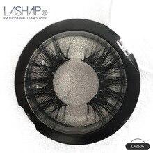 LASHAP 1 Pair 25 mm faux Mink Hair Lashes 100% Handmade 3 Styles Eyelashes False Crisscross Full Volume Eye Makeup