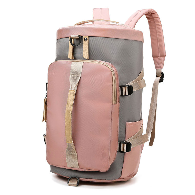 TRIPNUO Gym Bag Women Oxford Travel Bag Independent Shoe Compartment Fashion Sports Outdoor Backpack