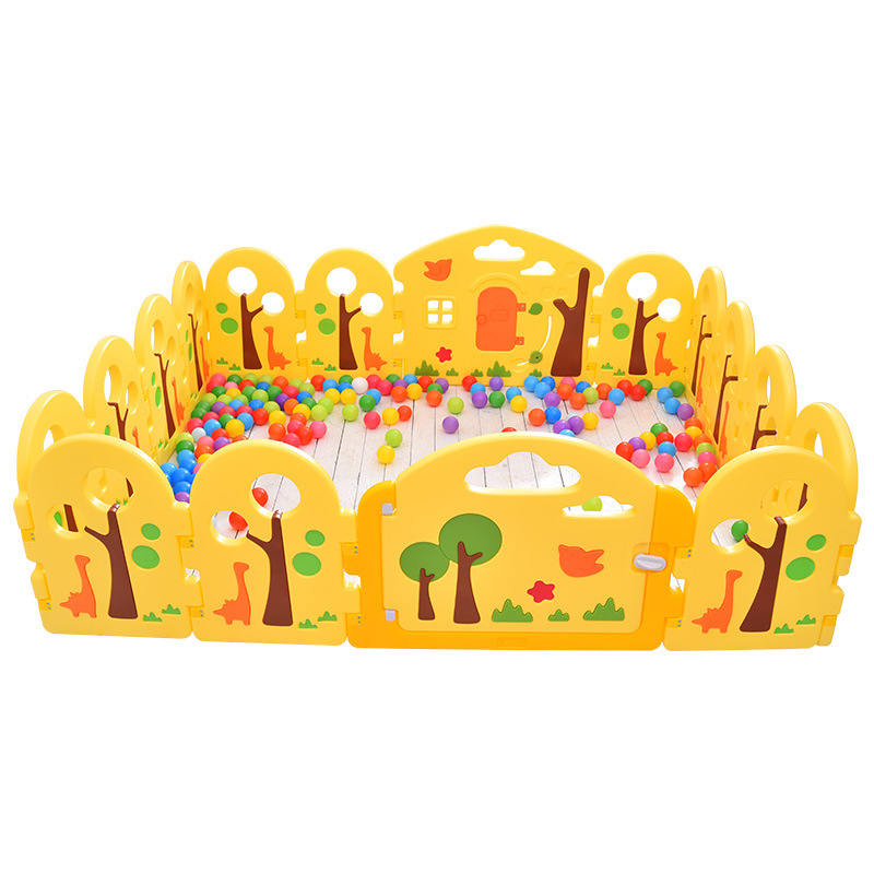 Children's Play Fence Baby Playpen Crawling Mat Toddler Learning Walking Guardrail Safety Fence Kids Indoor Toys