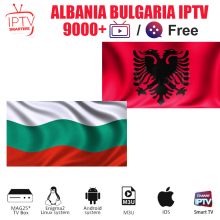 Bulgaria IPTV Subscription Albania Abonnement 9000+ French European UK for M3U Enigma2 MAG Smart TV X96 Android BOX
