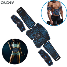 Electrostimulation Abdominal Muscle Stimulator EMS Abs Home Gym Hip Trainer Muscles Toner USB Charged Exercise Fitness Equipment