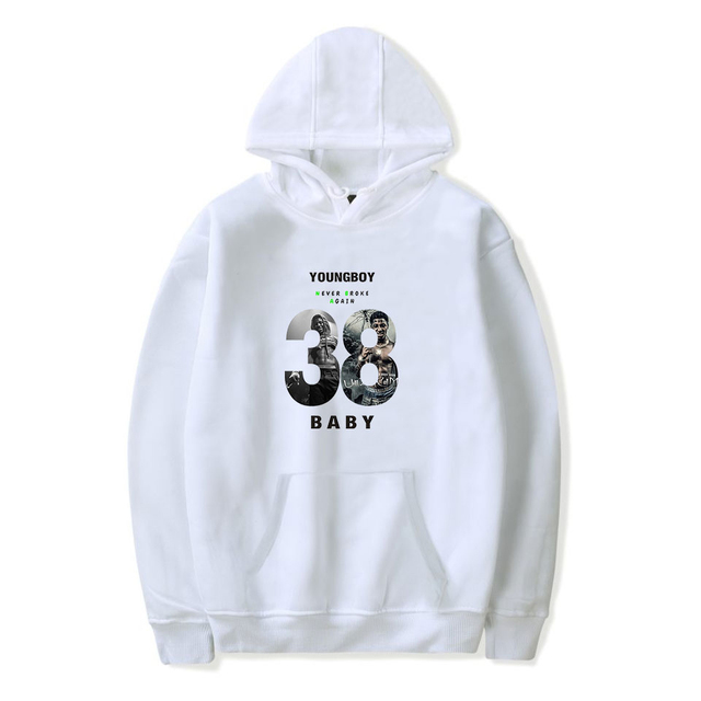 YOUNGBOY NEVER BROKE AGAIN HOODIE