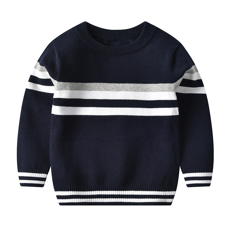 Kids Boys Sweaters And Tops Boys jumper Winter Sweaters Children Knitted  Pullover Warm Outerwear Pure Cotton|Sweaters| - AliExpress