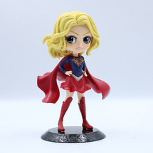 цена на 16cm Action Figure Superwoman PVC Anime Figure Collectible Model Toy Cute Action Figure For children gift