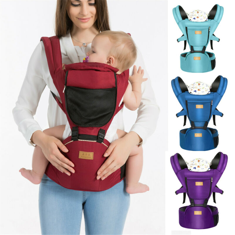 Baby Carrier Backpacks Ergonomic Infant Baby Carrier Adjustable Wrap Sling Newborn Breathable Kangaroo Baby Wrap Travel Backpack