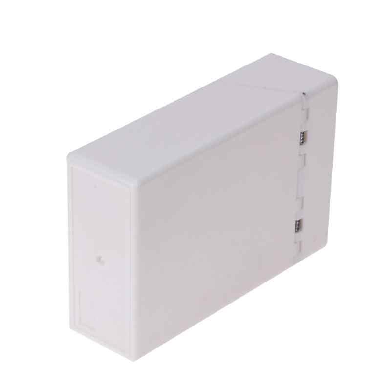 Étui à cigarettes plastique 10*6*3cm | 1 pièce, support de boîte à cigarettes, conteneur de poche, de rangement, accessoires de fumer