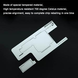 Image 5 - Monteur 3D Bga Reballing Stencil Kit Voor Iphone X/Xs/Xr/Xs Max Tussenlaag Kan Worden geplant Platform Tin Template Lassen