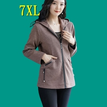 Women's Coat Plus Size Jackets Overweight Women Clothing Korean Casual Trench Outerwear Chic Tops Fashion Spring New Free Ship
