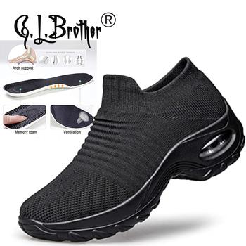 Ortopedyczne sklepienie łukowe buty dla kobiet Hypersoft Sneakers 2021 tenisowe białe buty dla dziewczynek damskie trampki tanie i dobre opinie G L Brother Siateczka (przepuszczająca powietrze) CN (pochodzenie) Niska (1 cm-3 cm) inny ZSZYWANE Stałe Dla osób dorosłych
