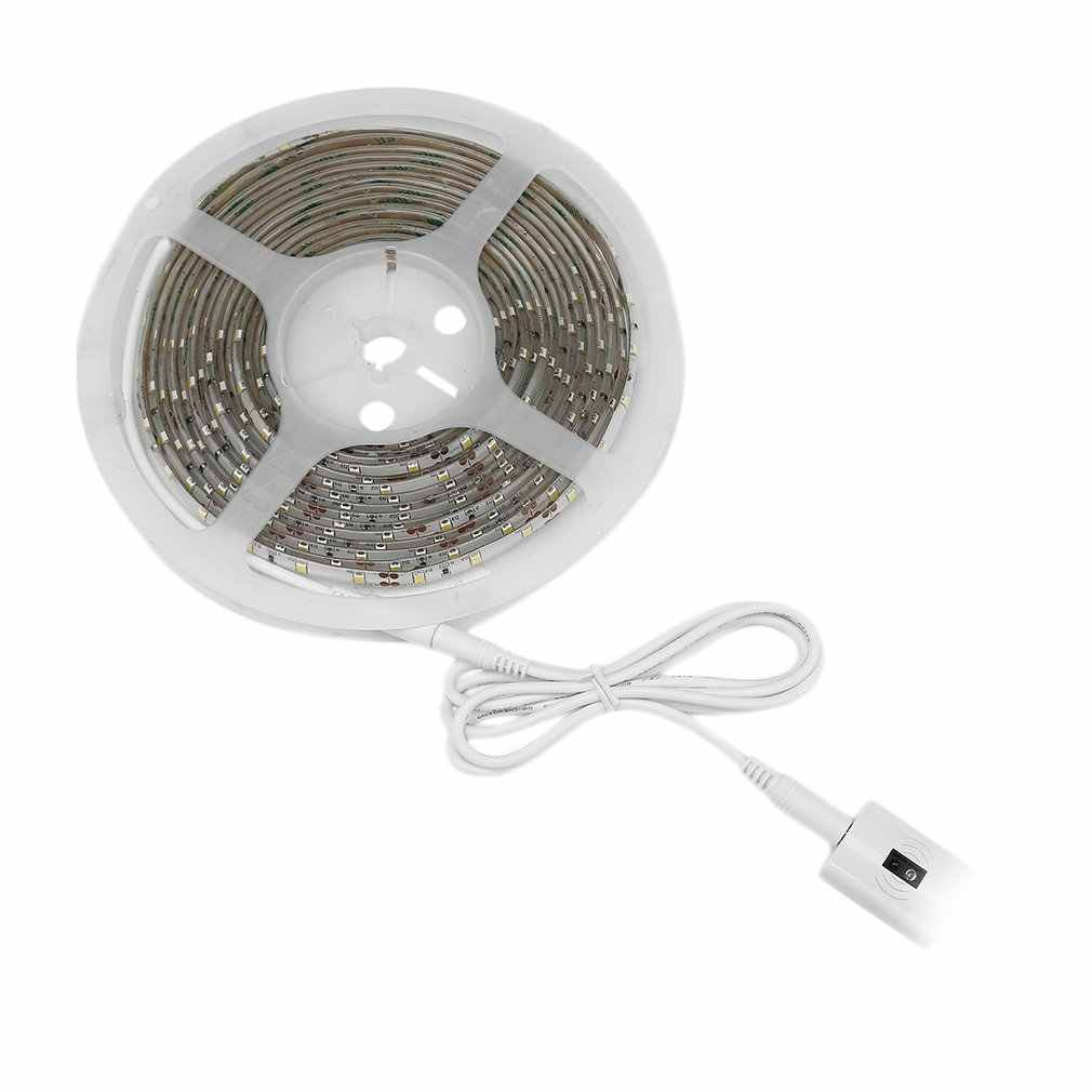 ICOCO Hohe Qualität 5M 300 LEDs Wasserdichte Hand Welle Sensor LED Streifen Lampe Dimmbar Kabinett LED Beleuchtung 2A 12V Neue Ankunft