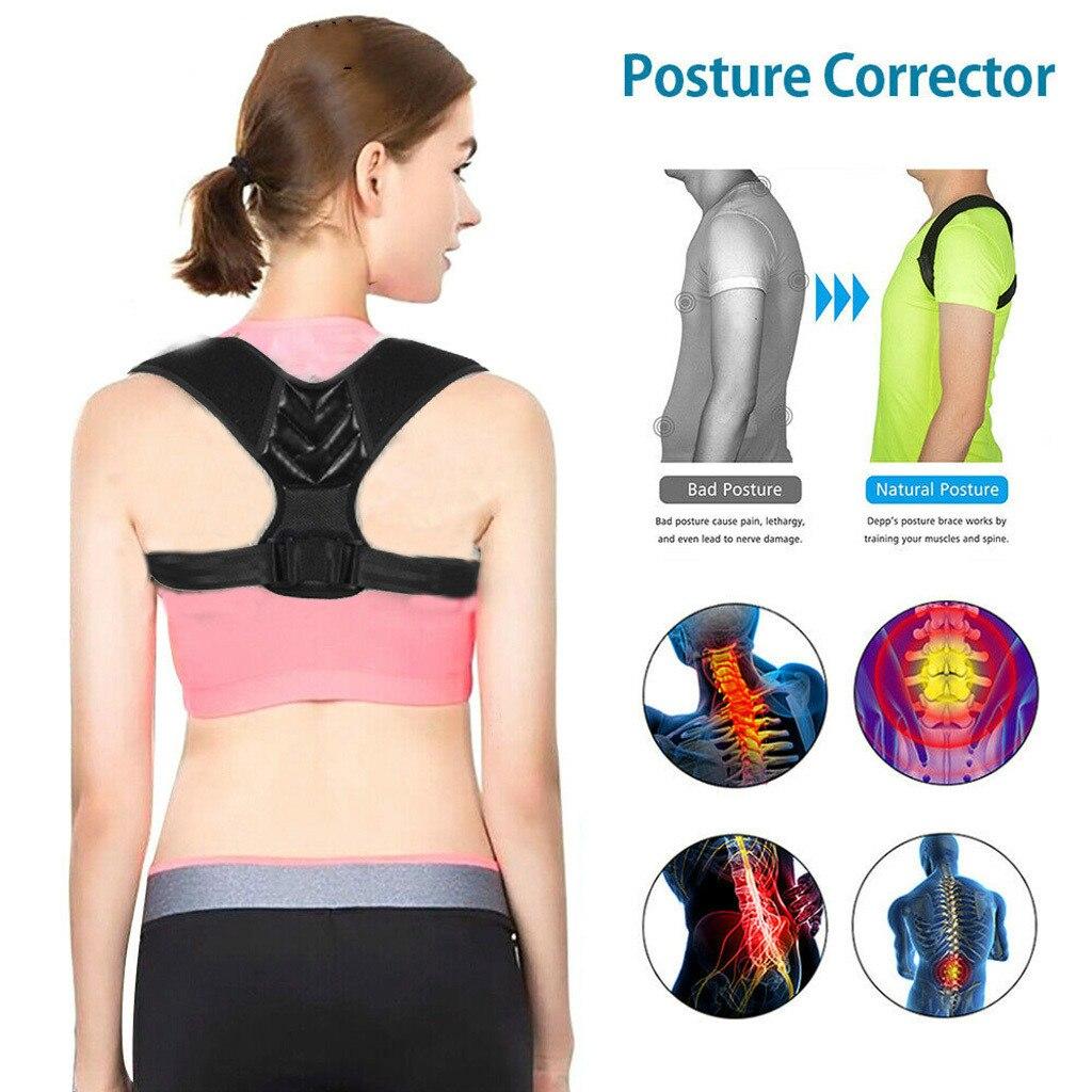 Adjustable Posture Corrector Back Brace Support...