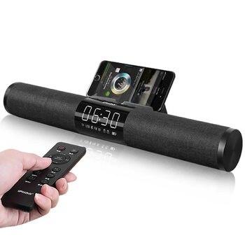 IFKOO F1 Bluetooth Speaker Bass Allarme Orologio Senza Fili Sistema di Home Video PC Auto Del Telefono Portatile Colonna Echo Muro Scrivania Subwoofer