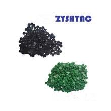 50 pces c3 c4 c5 c6 c8 c12 c14 verde/preto tampões hiwin dustproof tampas ferroviário capa de poeira para hgr15/20/25/30/35/45 egr15/20/25