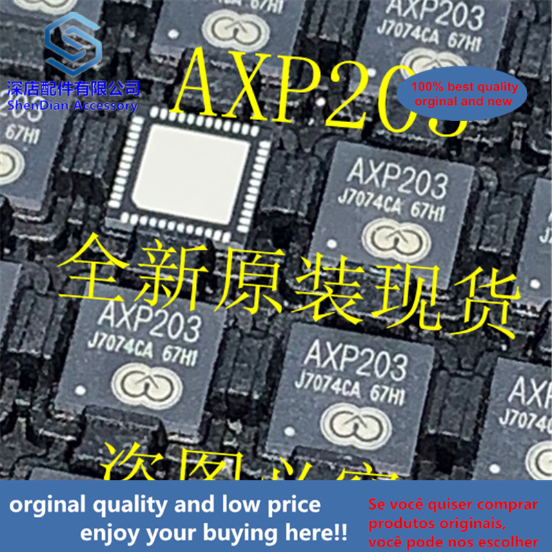 5pcs 100% Orginal And New AXP203 QFN48  Best Qualtiy