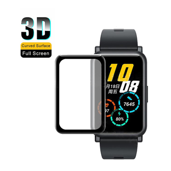 3D Curved Full Coverage Smart Watch Soft Protective Film Cover For Huawei Watch Fit / Honor Watch ES Screen Protector Case Cover image