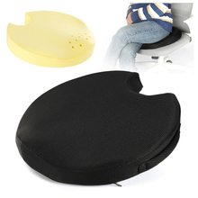 Seat Cushion for Tailbone Pain Relief - Memory Foam Coccyx Seat Cushion for Office Chair Car Seat with Carry Handle