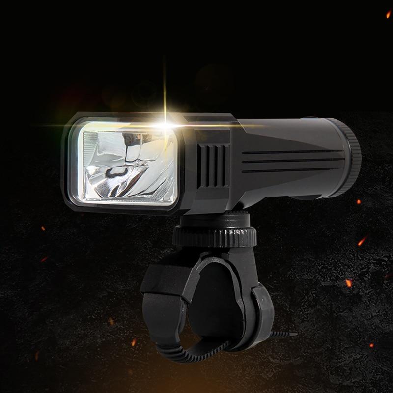 3400mAh Superlight Bicycle Light Waterproof LED 3 Mode Bike Front Light Lamp 18650 USB Recharging Headlight Cycling Flashlight