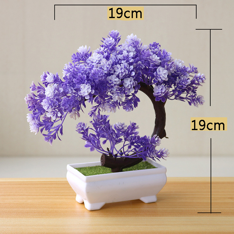 Artificial Bonsai Fake Green Pot Plants for Home Decor Craft H226d0482a06f4430ae5a5ab38f134862p artificial bonsai