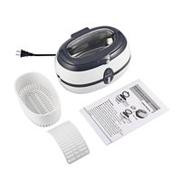 Stainless Steel 600ML Capacity 40 KHz Digital Ultrasonic Cleaner for Professional Jewelry Watch Glasses and Home Use DK 08A   -