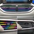 10/5 шт. автомобиль, устанавливаемое на вентиляционное отверстие в салоне автомобиля полоски переключатель на решетке обода отделкой на выхо...