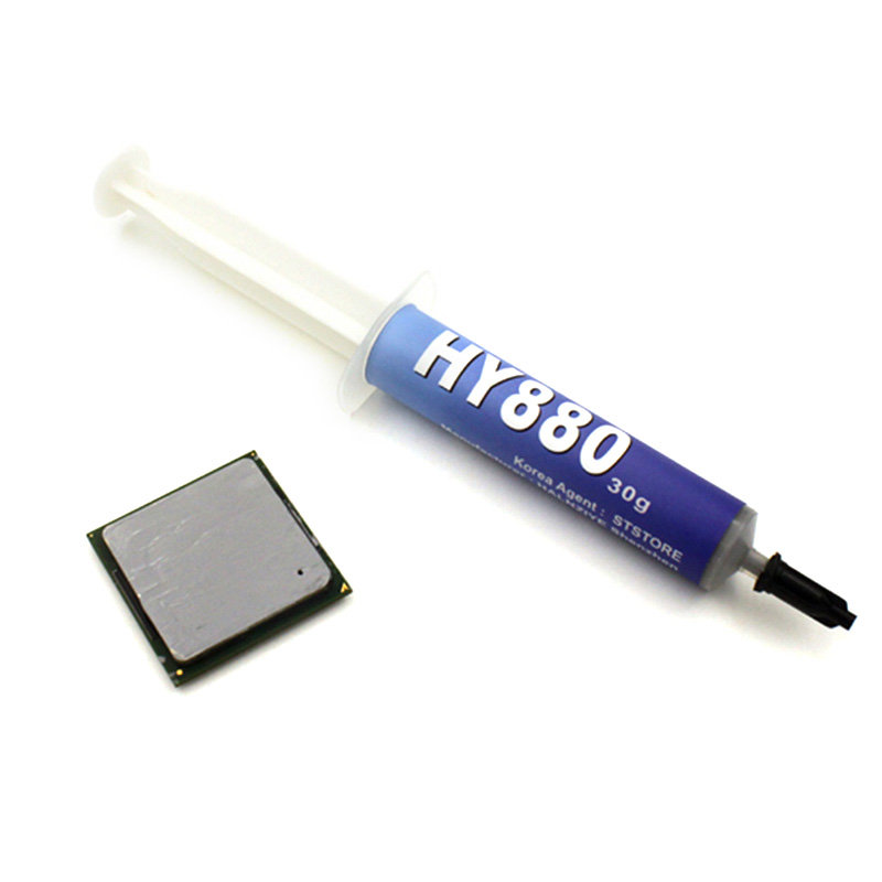 HY880 30g Needle Tube Packing Super Carbon Nano Thermal Grease For CPU GPU LED VH99
