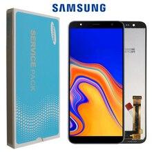 100% Original 6,0 LCD para Samsung Galaxy J4 + 2018 J4 Plus J415 J415F J410 pantalla táctil LCD sensor + Paquete de Servicio