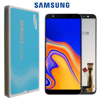 100 oryginalny 6 0 #8221 LCD do Samsunga Galaxy J4 + 2018 J4 Plus J415 J415F J410 wyświetlacz LCD ekran dotykowy czujnik + pakiet usług tanie i dobre opinie CN (pochodzenie) Ekran pojemnościowy 1280x720 3 AMOLED Galaxy J4+ 2018 J4 Plus J415 LCD i ekran dotykowy Digitizer Black