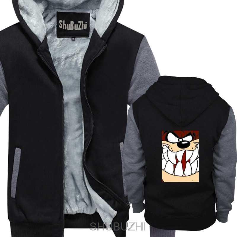 TAZ TAZMANIAN TEUFEL WARNER BROS unisex dicken hoodies männer warme mantel winter baumwolle jacke männliche kostenloser versand sbz4320