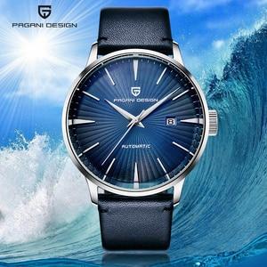 Mens mechanical watches PAGANI Design Brand fashion simple men watch waterproof sport business clock men automatic reloj hombres