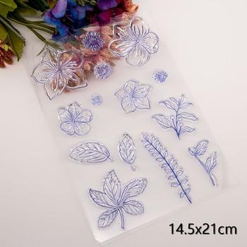 Petals Clear Stamps New Arrivals Cutting Dies Scrapbook Christmas Card Paper Craft Plastic Transparent - discount item  20% OFF Arts,Crafts & Sewing