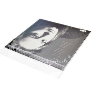 Image 3 - 50PCS Resealable 4 Mil Flap Outer Plastic Vinyl Record Outer Sleeves for 12 Normal LP GATEFOLD 2LP