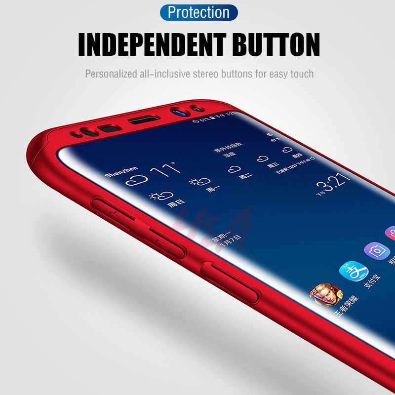 Роскошный Полный чехол для samsung Galaxy S10 S9 S8 Plus защитный чехол для samsung Note 10 9 8 S7 S6 Edge чехол для телефона пленка