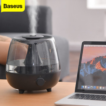 Baseus Large Capacity 2.4L Ultrasonic Air Humidifier Aroma Essential Oil Diffuser Fogger Mist Maker Air Purifier for Home Office