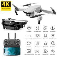 Dron 4K S62 WIFI FPV con cámara gran angular HD, 2,4 GHz, RC, Dron cuadricóptero RC plegable de 4 canales